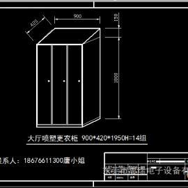GMP认证药厂304不锈钢衣柜