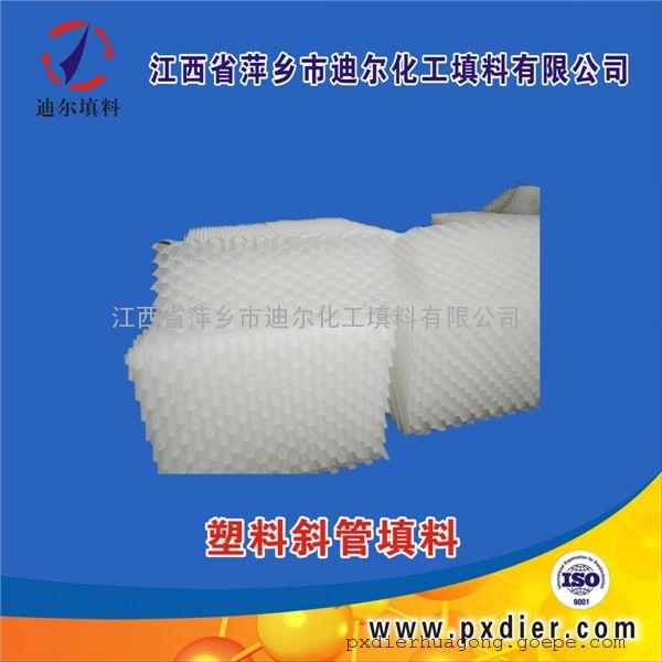 乙丙共聚蜂窝斜管填料聚丙烯蜂窝斜管填料塑料蜂窝斜管填料