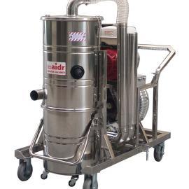地坪研磨设备配套引擎驱动工业吸尘器|威德尔QY-75J