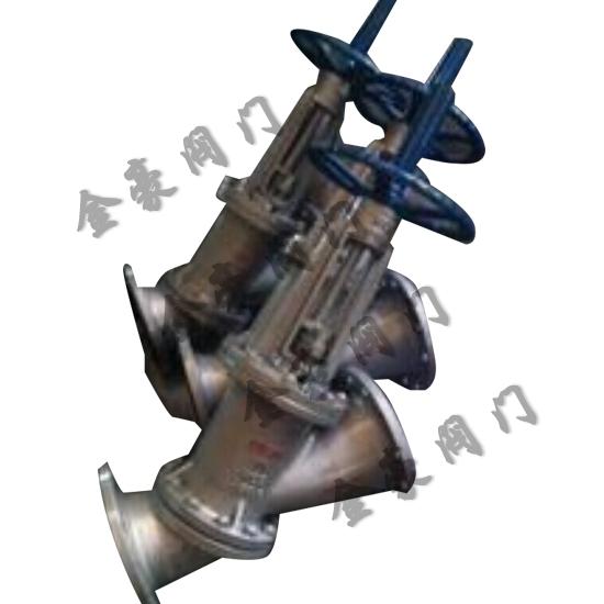 js45y手动y型料浆阀     图片