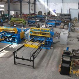 高速高质量煤矿支护网排焊机 钢筋网片排焊机 护栏网片机器