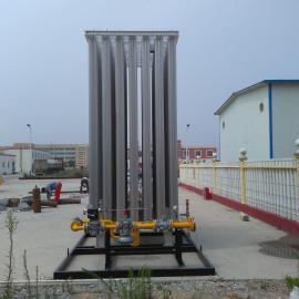LNG气化调压站 空温式汽化器设备 低温液体气化设备