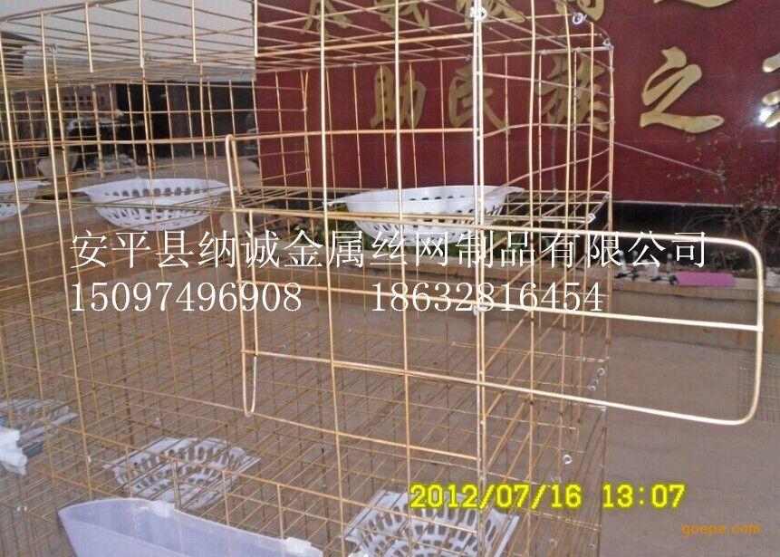 信鸽鸽笼 肉鸽鸽笼厂家 养殖笼具批发零售图片