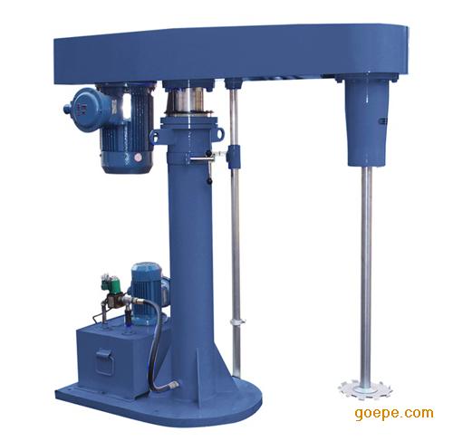 通过液压泵工作驱动液压柱塞升降图片