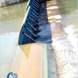 MC名川液压活动坝泄洪能力强安全可控度高