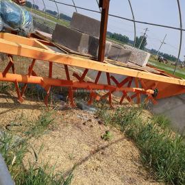 行走式养殖翻耙机轨道发酵床翻耙机无污染