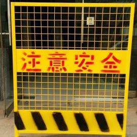 电梯井口防护网施工电梯门|防护门电梯洞口防护