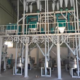 泰兴石磨面粉机-石磨面粉机械-小型磨面机