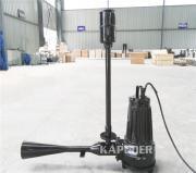 除铁锰用什么设备?可移动式潜水射流曝气机 凯普德