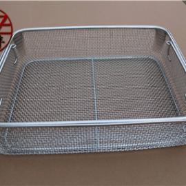 不锈钢*编织网筐 不锈钢消毒筐 器械消毒筐