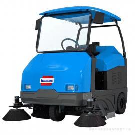 西安清扫车 陕西物业保洁公司用小区道路路面地面电瓶清洁设备