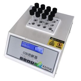 凯跃环保实验室台式恒温加热COD消解仪XJY-II