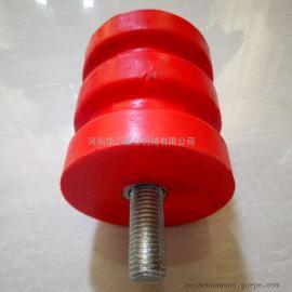 100*100螺柱行车碰头 厂家现货缓冲器 起重设备防撞器