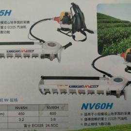 日本川崎NV60H单人采茶机 背负式单人采茶机、采摘机