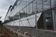 连栋玻璃温室大棚-连栋PC阳光板温室