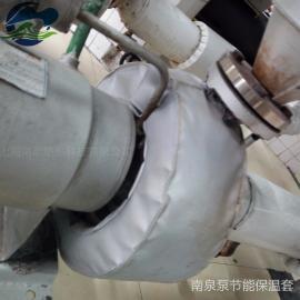 泵隔热保温套泵柔性易拆装保温罩清水泵保温套