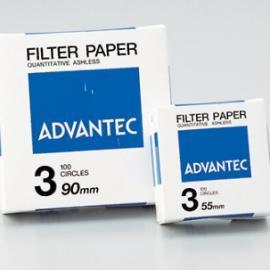 现货热销日本进口东洋ADVANTEC定量滤纸NO.5A 150mm 100枚/盒
