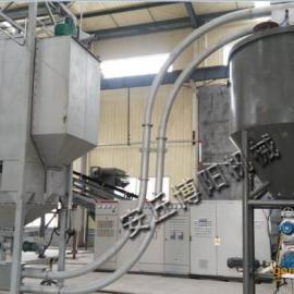 封闭型吨袋拆包机、无尘矿粉吨袋卸料机厂家供应