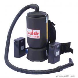 肩背式电动吸尘器 工业厂房狭缝货架清灰背负式无线吸尘机