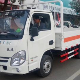 国五跃进汽油柴油液化气瓶厢式运输车价格