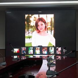 2019款P1.8小间距拼接屏会议室LED安装效果