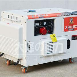 广告车载12kw静音柴油发电机