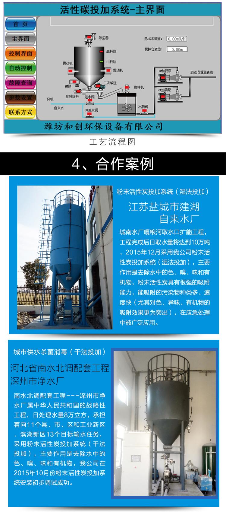 粉末活性炭投加装置