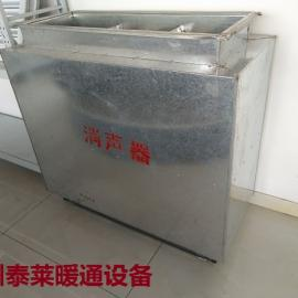 微孔板消声器(WX型)静压箱,消声百叶窗,泰莱