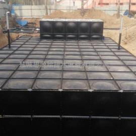 图纸型号XBZ-396-0.50/50-M-I抗浮式箱泵一体化大模压块水箱