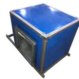 JDF-P-315A箱型管道�L�C外�O消音型方形箱�w