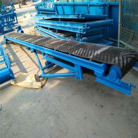 六九zhong工0.5mi带宽双yidian动升降圆管护栏型LJ8皮带输送机