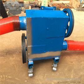 六九重工粮食装车上料用软管抽粮机Lj8加工单项电机220V吸粮机kd