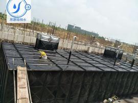 抗浮式地埋箱泵一体化消防给水设备无底板安装方法