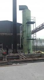 华强*生产BCT型65吨玻璃钢烟气脱硫塔
