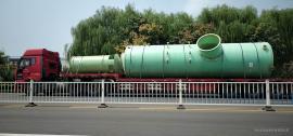 华强*生产BCT型50吨玻璃钢烟气脱硫塔