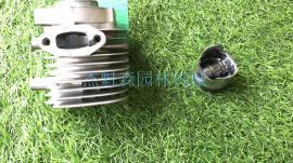 新大华高枝油锯P230S气缸总成/化油qi/化油qi底座/离合碟/lvgan