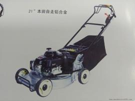 玛雅5.5HP马力自走式草坪机 本田动力四冲程21寸草坪机LM216A