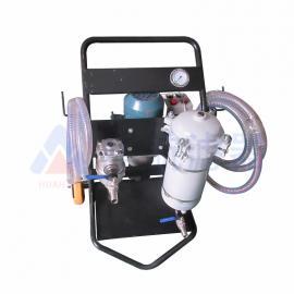 HHLQQ防爆滤油机便携式滤油 小型滤油车LYC-63B