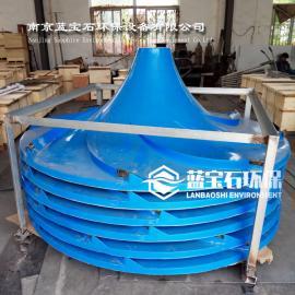 直径2500mm双曲面搅拌机叶桨波轮式顺逆时针叶轮