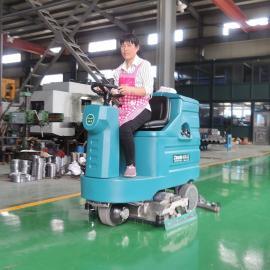 驾驶式洗扫一体机洁乐美YSD-M20全自动工厂吸扫拖三合一清洗