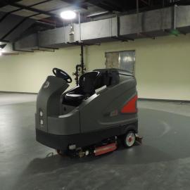 青浦大型物流配送中心专用驾驶式洗地机流动仓库清洗机保洁