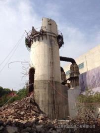 60米砖烟筒拆除