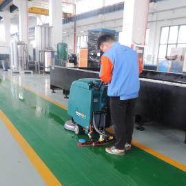 全自动洗地机 工业车间电动洗地机 工厂手推式自走式洗地机