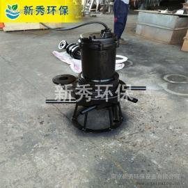 潜水曝气机怎么接xian