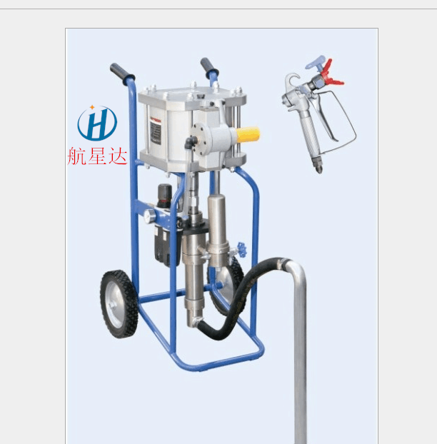 气动式无气喷涂机网架钢结构喷漆机