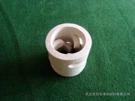 臭氧接触反应塔填料使用 陶瓷鲍尔环填料流通处理