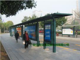 候车亭设计定做 广告灯箱制作 市政户外候车亭成品