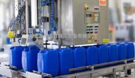 25升方桶灌装机,25升灌装机,25升塑料方桶灌装机