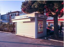 广场售货亭 街道 移动式售货亭 不锈钢售货亭制作