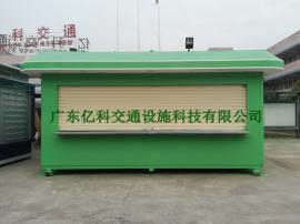 出口可拆装式售货亭 移动式售卖亭制作 艺术小吃亭